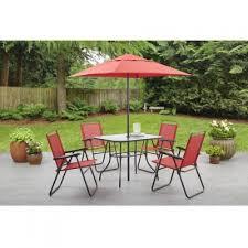 folding patio table with umbrella hole outdoor dining sets with umbrella patio dining sets clearance