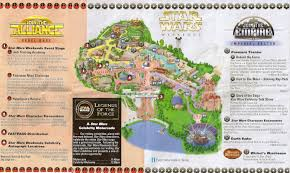 Map Of Hollywood Studios Star Wars Weekends Archive Information Disney U0027s Hollywood Studios