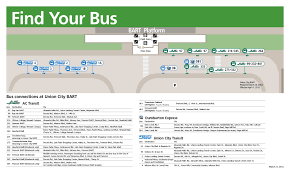Map Of Bart Stations by New Bus Stops To Open At Union City Bart Station Ac Transit