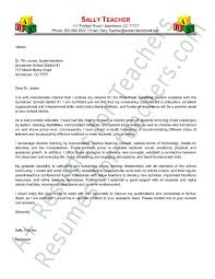 Cover Letters For Resumes Examples by Preschool Teacher Cover Letter Sample Application Letter Example