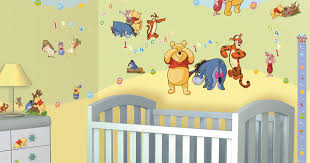 disney kinderzimmer walltastic wandsticker kinderzimmer disney winnie the pooh www 4