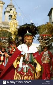 sicily italy traditional celebrations of the easter procession