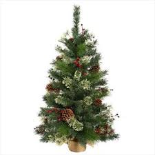 northlight 2 ft nisswa berry pine artificial tree with