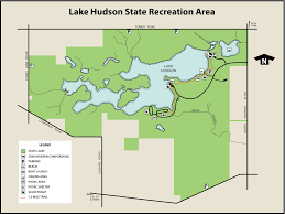 White Lake Michigan Map by Lake Hudson State Recreation Areamaps U0026 Area Guide Shoreline