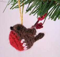 lucyravenscar crochet creatures tiny christmas robin free