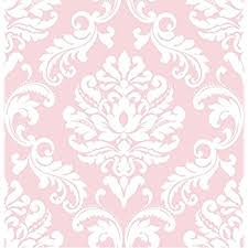 pink stripe self adhesive wallpaper home decor roll removable