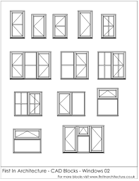 free cad blocks window elevations first in architecture