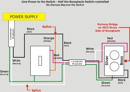 light switch receptacle wiring diagram kwikpik me