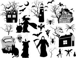 spooky icons 100 hand drawn halloween icons by hdg halloween