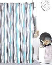 Gray And Turquoise Curtains Gray And Orange Shower Curtain Image For Orange And Grey