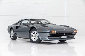 ferrari classic ferrari 208 gtb turbo u201cgrigio metallic u201d classic youngtimers com