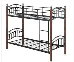 dew foam double deck bed frame with 4