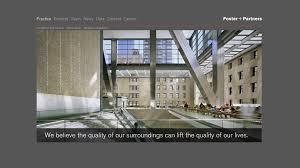 architektur homepage foster partners website manss company