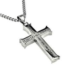 christian necklaces my strength men s iron cross necklace cross necklaces
