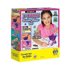 amazon creativity kids treme sticker maker toys