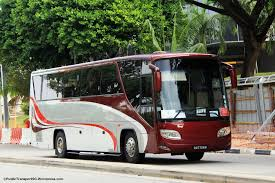mitsubishi singapore premium bus service 741 land transport guru
