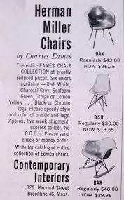Herman Miller Padded Blue Vintage Chair 188 Best Vintage Advertisements Eames Images On Pinterest