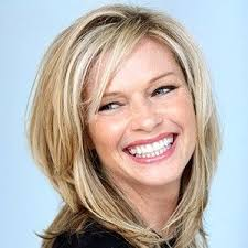 medium length hairstyles for women over 40 with bangs shoulder length layered hairstyles woman haircut medium length from