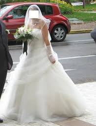 occasion mariage de mariée t34 36 blanche point mariage d occasion avec jupon
