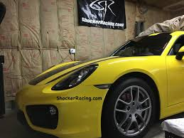 porsche signal yellow porsche cayman 981 how to install led clear side markers