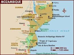 island resort hartbeespoort map map of mozambique east africa looks alot like the east coast of