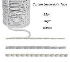 Hemming Tape Curtains Curtain Weight Tape Ebay