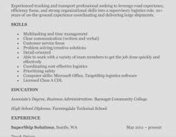 resume exles for students with little experience trucking cdl driver resume exles truck sle class pictures hd
