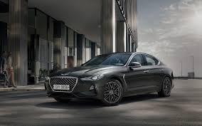 genesis g70 new midsize luxury sedan genesis korea