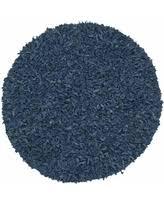 Leather Shag Rug Blue Shag Rugs Sales U0026 Specials