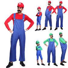 Mario Luigi Halloween Costume Mario Costume Ebay
