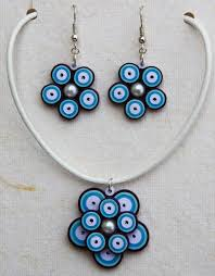 quilling earrings set quilling earrings models beautify themselves with earrings