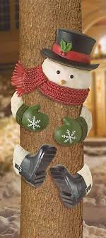 snowman tree 10 cool ideas to decorate garden or yard trees for christmas