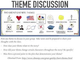 themes of wealth in the great gatsby the great gatsby a lesson plan youtube