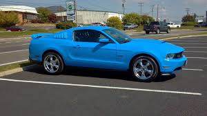 2011 mustang gt 5 0 2011 grabber blue ford mustang gt 5 0 for sale cars