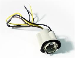 1969 1977 camaro tail light socket with wiring lead for double
