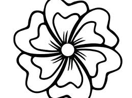printable large flowers large flower coloring pages perfect flower color pages about large