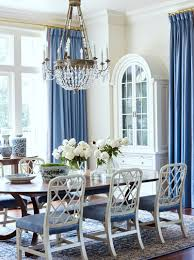 Blue And White Dining Chairs by Dated Tuscan Home Transforms With Blue And White Decor Laurel Home