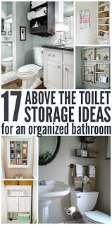 17 brilliant over the toilet storage ideas