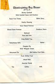 thanksgiving day menus george stoken s photos
