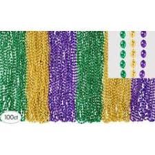 mardi gras bead necklaces assorted mardi gras bead necklaces 100 ct zurchers