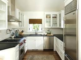agencement cuisine ouverte idee amenagement cuisine et cuisine en u pour tout photos l idee