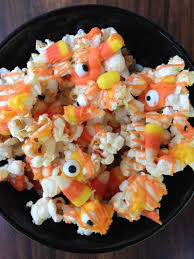 popcorn for halloween halloween fun recipe ideas candy corn digital scrapbooking kits