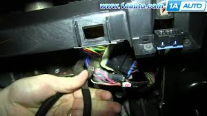 how to install replace fix brake light switch 2000 05 chevy monte