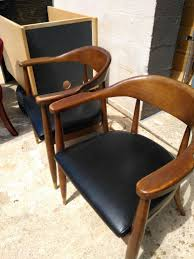Nice Office Furniture by 2 Nice Antique Chairs For Waiting Area Made Of Faux Leather For