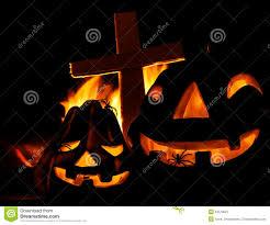 scary halloween pumpkin royalty free stock photography image