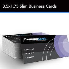 slim business cards 16pt silk business cards premiumcards net