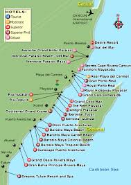 map of mexico resorts map of resorts riveria playa we are going to