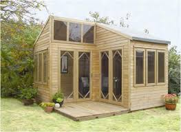 Summer Garden Sheds - unique and cozy summerhouse outdoors pinterest garden cabins
