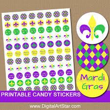 mardi gras candy mardi gras candy stickers printable mardi gras stickers diy