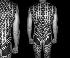 10 artists who create striking geometric tattoos spanning the